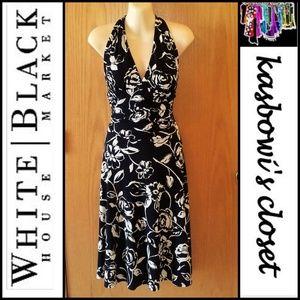 WHBM Knit Halter-Neck Sundress SZ 8-10